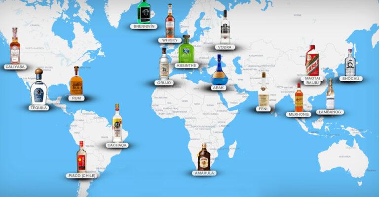Mapa Bebidas Espirituosas - RodCamp Logística